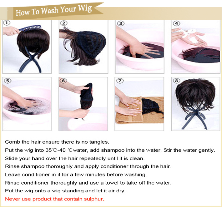 Human hair how to wash synthetic and human wig correctly how to wash synthetic and human wig correctly pmusecretfo Image collections