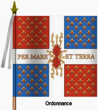 Compagnies Franches de la Marine Ordonnance Flag