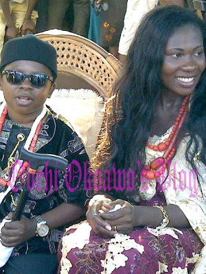 Traditional Wedding Photos Of Chinedu Ikedieze (Aki)  And His Lovely Wife