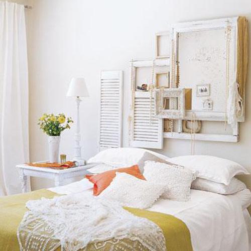 Mamypops cabeceros de cama con ventanas recicladas - Cabeceros de cama pintados ...