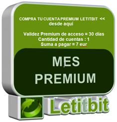 Que ventajas Me Proporciona Comprar Cuenta Letitbit Para Descargar Peliculas.