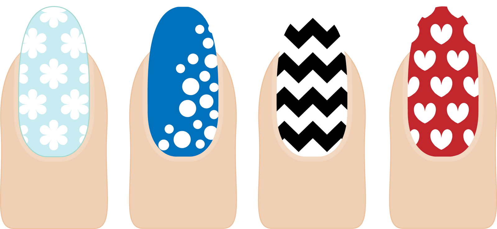 Rivka\'s Renditions: Nail Templates