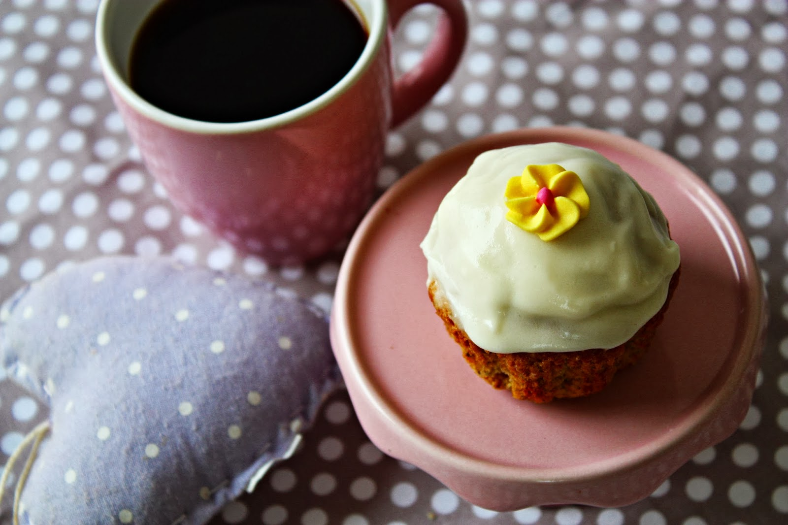 Honey Camomile Cupcakes