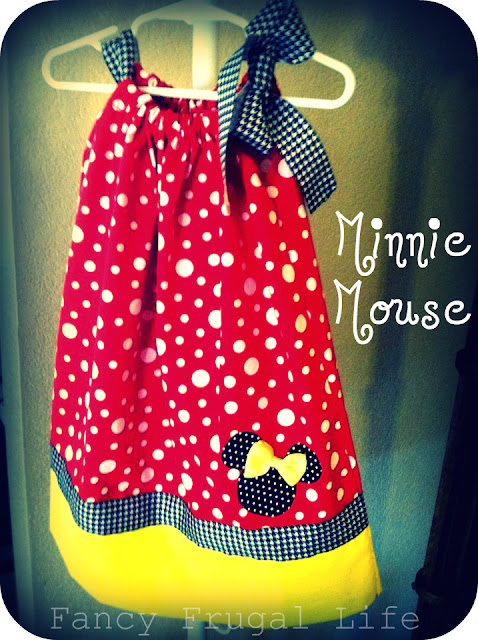 Cute Ideas For Pillowcase Dresses : Disney Inspired Handmade Fashion & Our Magical Trip