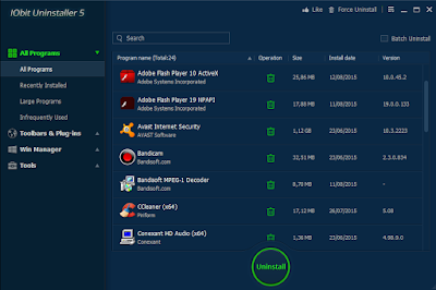free download IObit Uninstaller 5 Full Terbaru Gratis