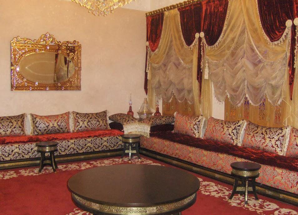 D coration de salon marocain salons du maroc et for Salon du batiment casablanca