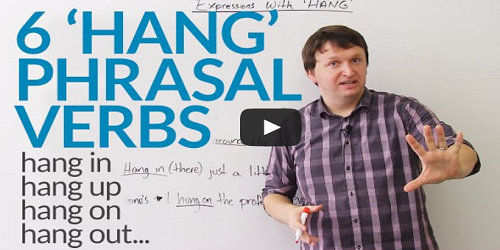 Phrasal Verbs with HANG