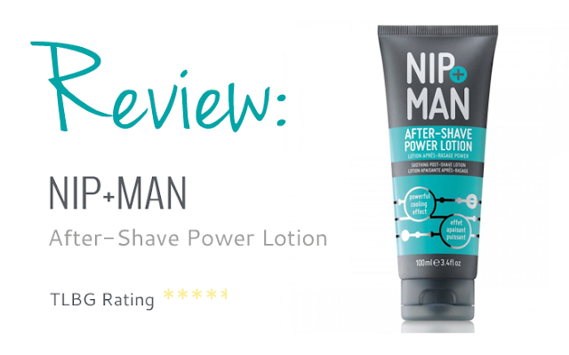 Review: Nip + Man After-Shave Power Lotion