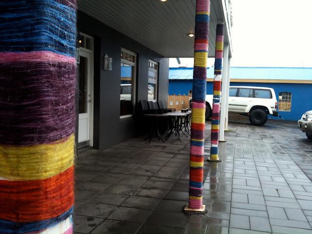Knitting Vacations Iceland : Le petit pot yarnbombing en islandia
