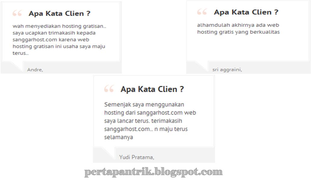 Sanggarhost.com terbaik dan berkualitas di Indonesia