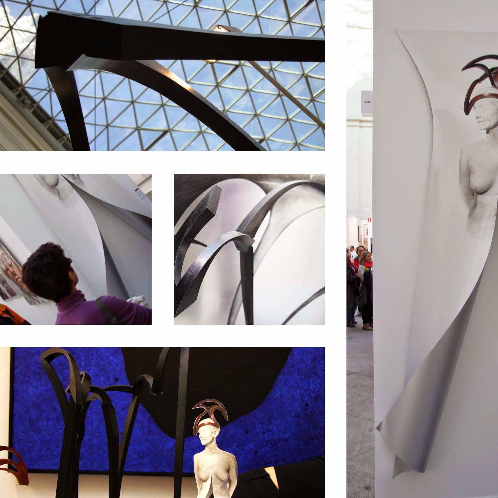 Mar solis escultura art madrid 2014 - Clorofila digital madrid ...