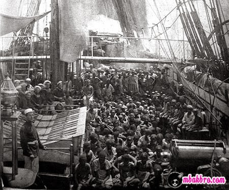 perdagangan budak