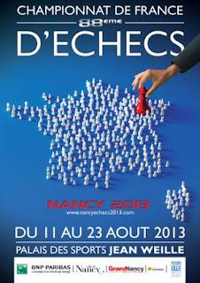 Echecs à Nancy : 88e Championnats de France