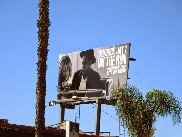 Beyoncé Jay Z On The Run billboard