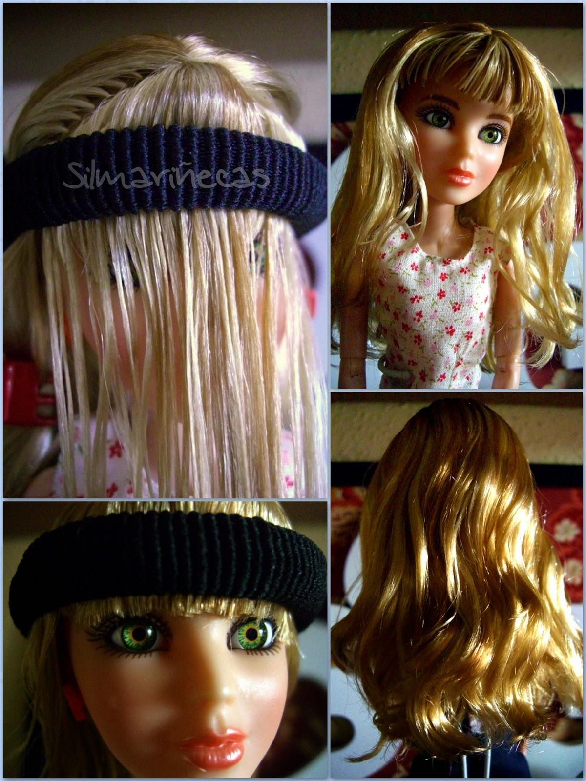 cómo cortar el flequillo a una muñeca-