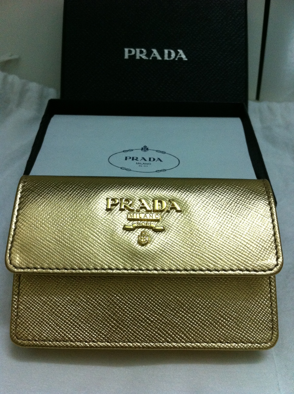 prada leather crossbody bag - Authentic Luxury Items @ Bargain Price: 4 Prada Credit Card Case ...