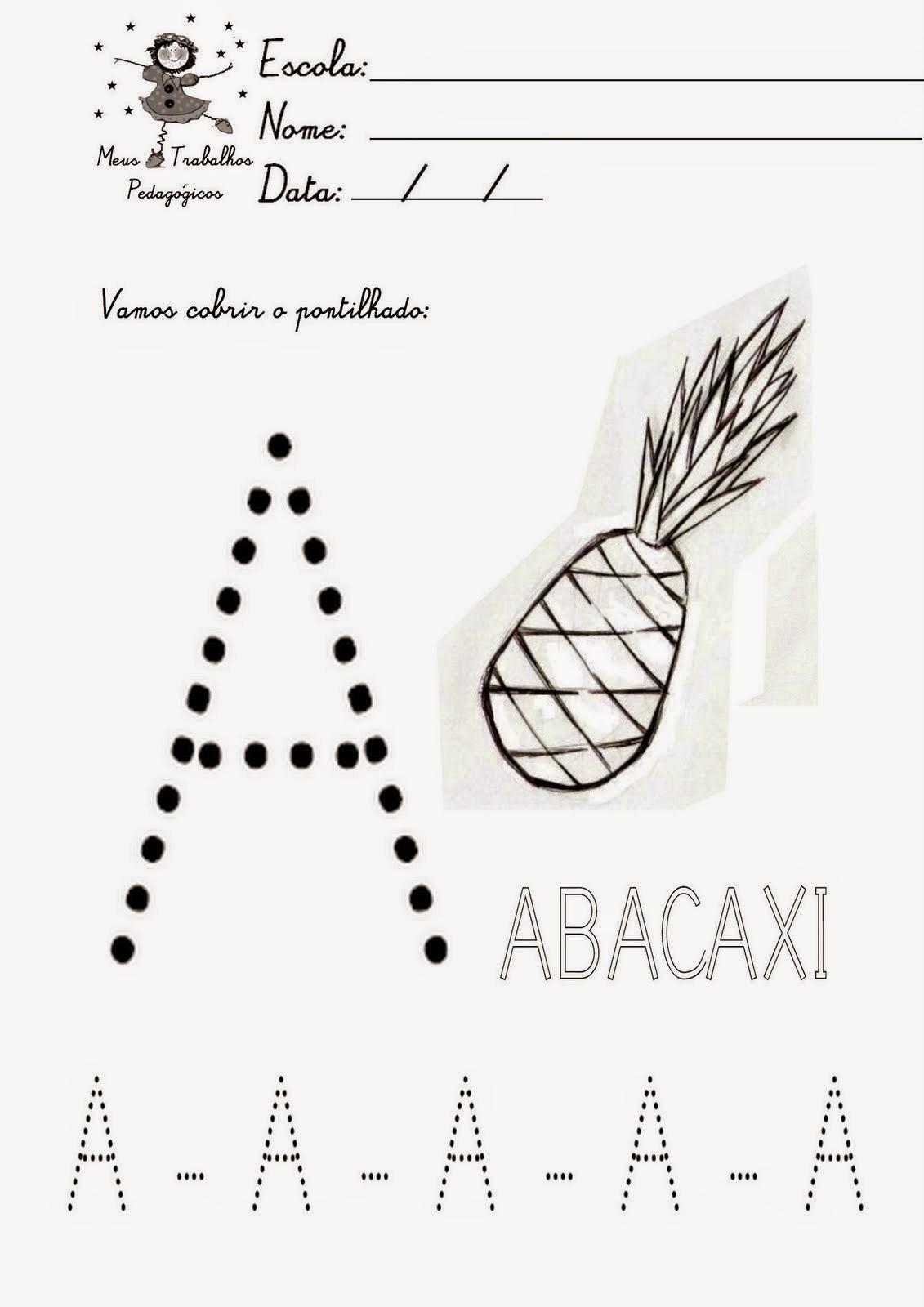 Well-known ATELIÊ CANTINHO DA EDUCAÇÃO INFANTIL: ATIVIDADES MATERNAL III ALFABETO CC88