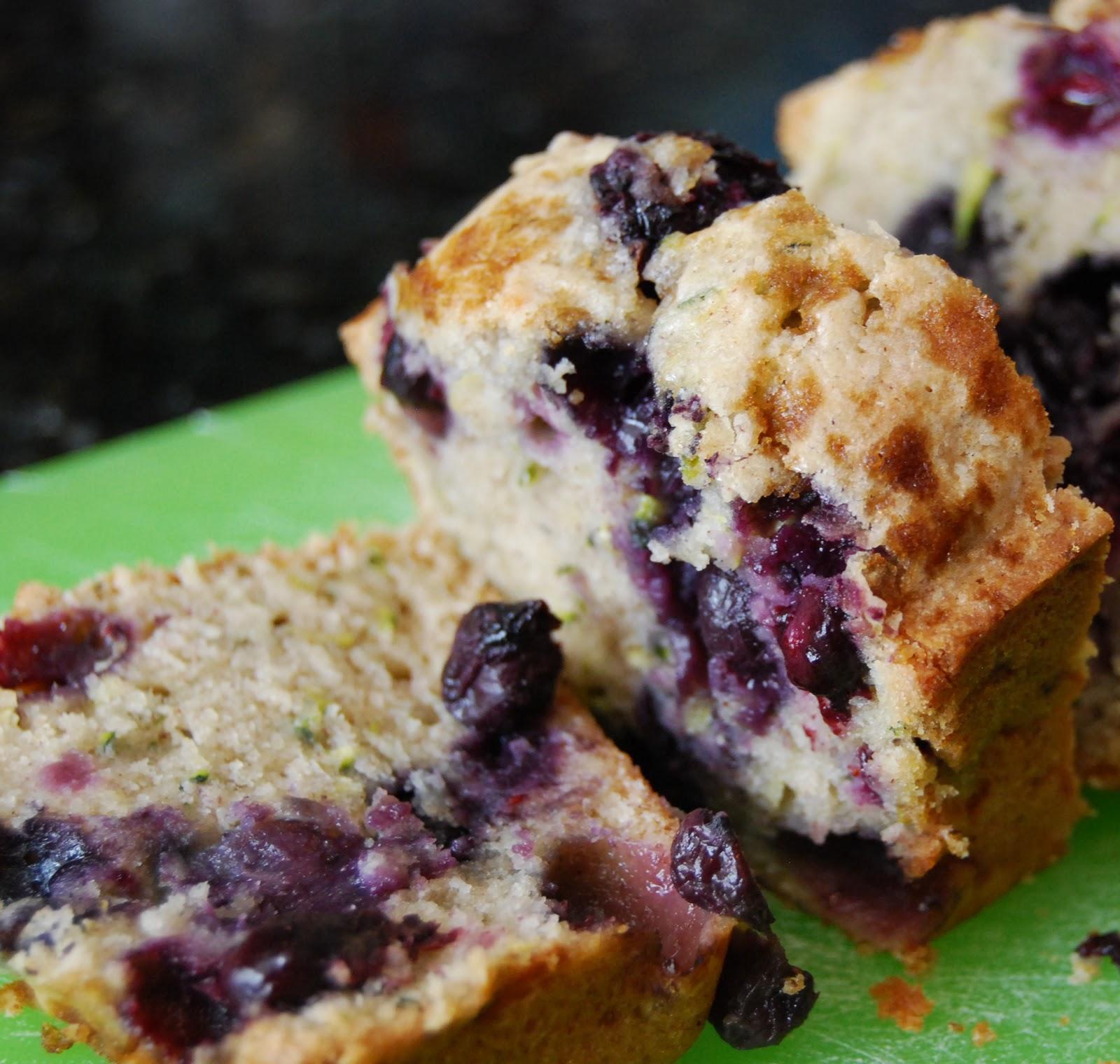 Monster Mama: Blueberry Zucchini Bread