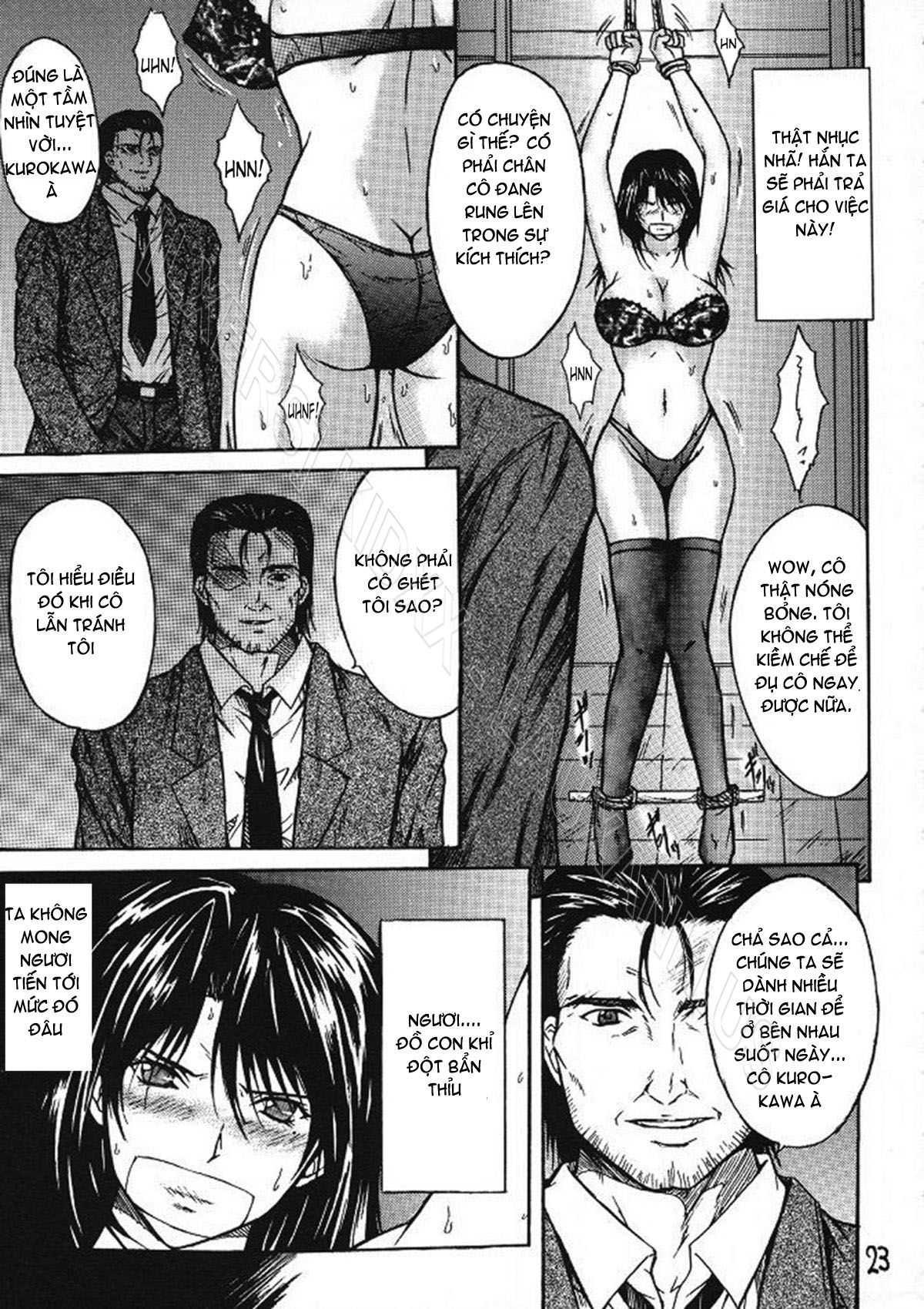 TruyenHay.Com - Ảnh 22 - Ryoujoku Rensa Chapter 2