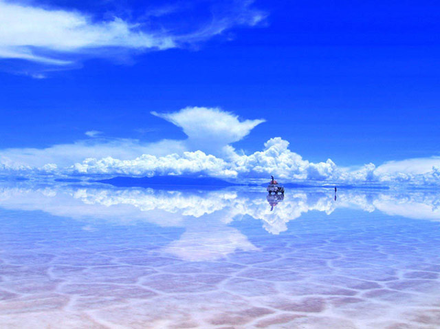 Salar De Uyuni After Some Rain Bolivia Salt Flats