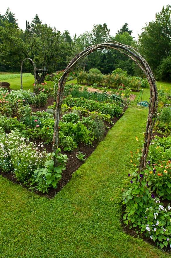 Tra orto e giardino una certa idea di orto - L orto in giardino ...