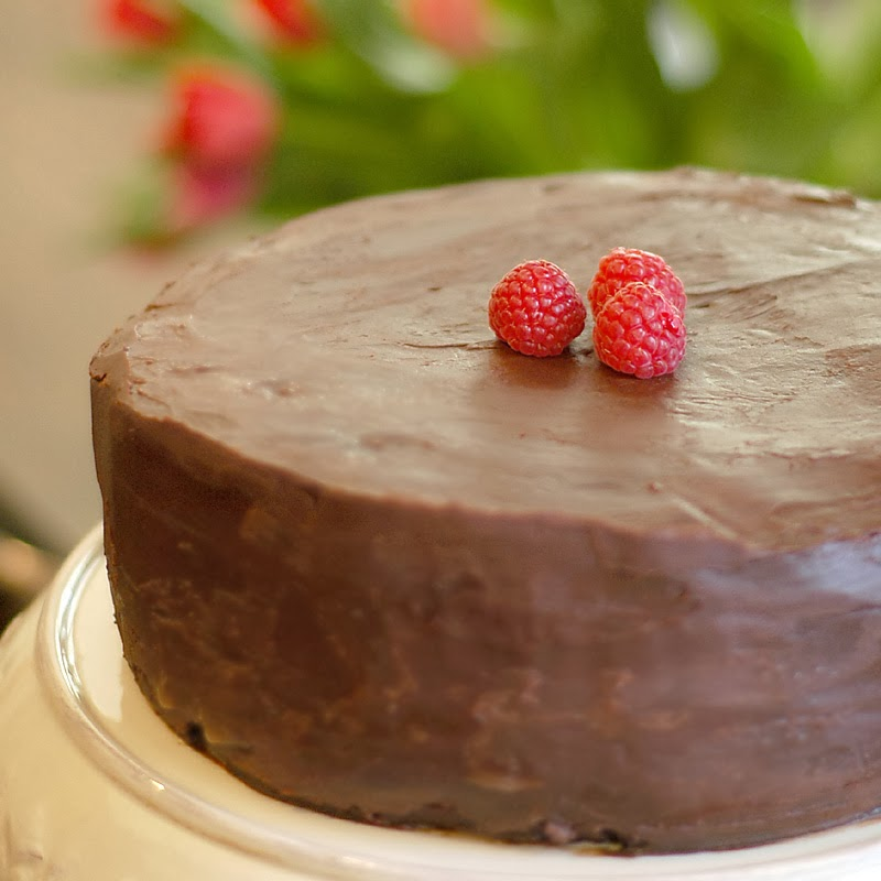 Intense Chocolate Layer Cake