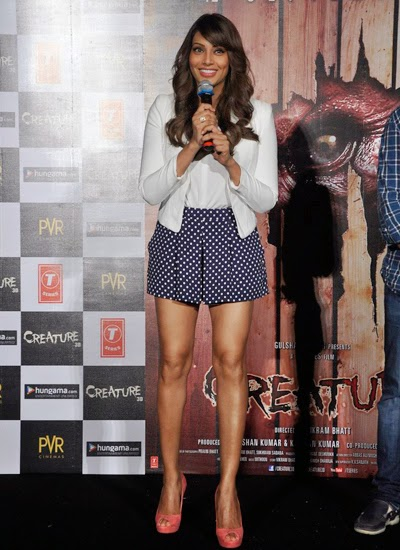 Bipasha Basu at the trailer launch of film Creature 3D at PVR Cinemas
