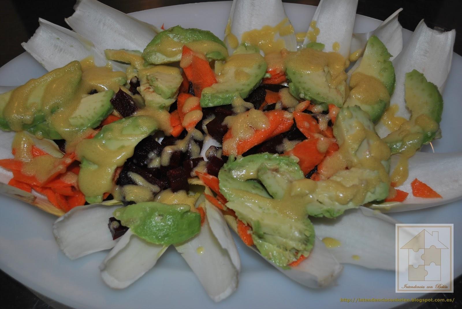 Intendencia con bel n ensalada de endivias - Ensaladas con pocas calorias ...