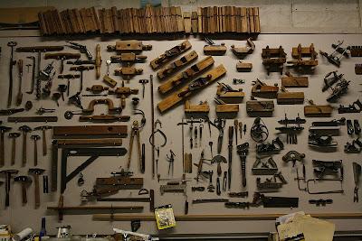 Malvini Belgium Antique Woodworking Hand Tools