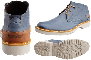 Buckaroo Men's Leather Boots worth Rs.3995 for Rs.1398 (Flat 65% Off) @ Amzon (Limited Period Deal)
