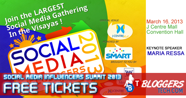 Social Media Influencers Summit 2013 FREE Tickets