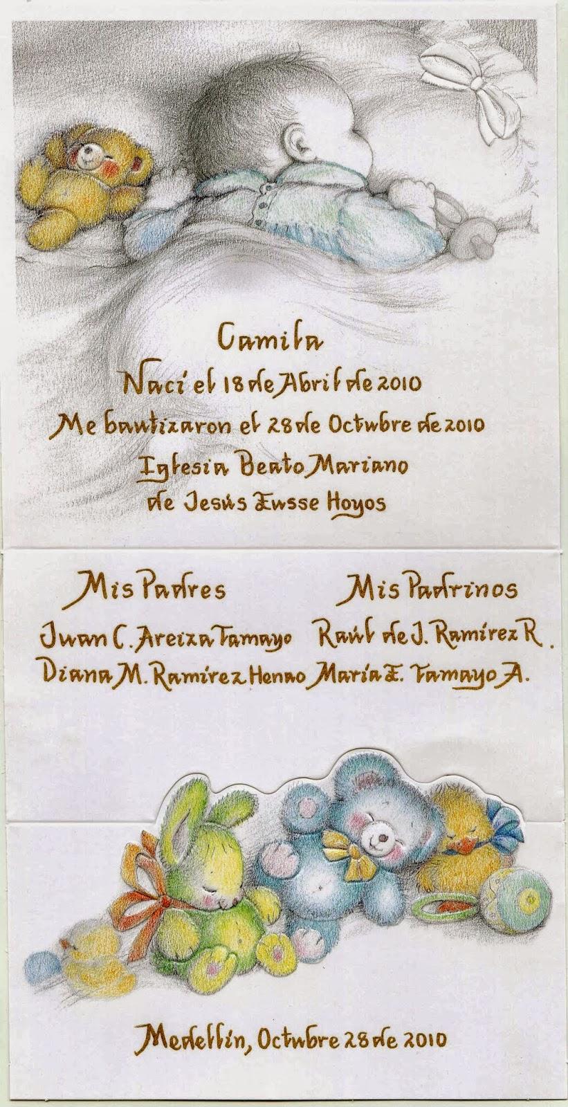Caligraf a m nica arcila r b sica art stica creativa for Poemas para bautizo