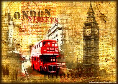 fondo retro grunge Londres