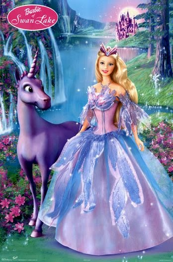 Mewarnai Gambar Barbie Of Swan Lake