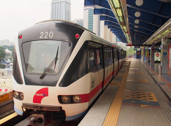 Peta Laluan Terkini LRT RapidKL 2016