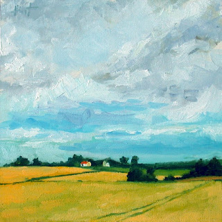 Wheatfields III by Liza Hirst