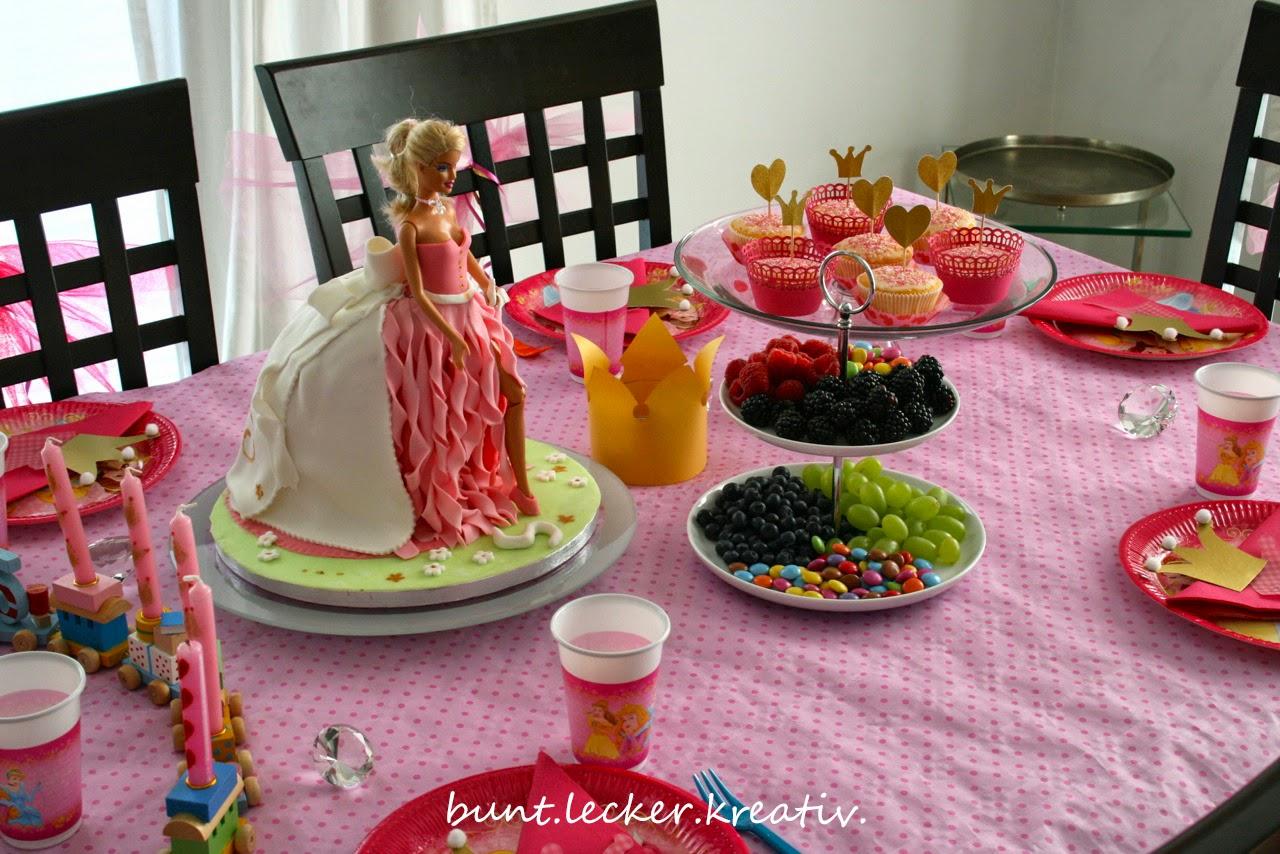 Prinzessinnen party for Deko essen