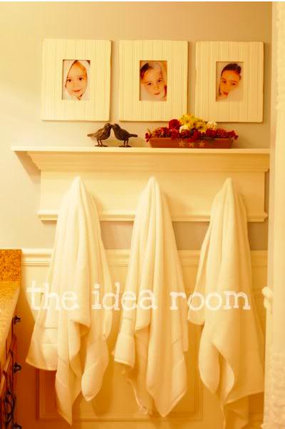 Cindy Morgan: Creative ways to hang bathroom towels