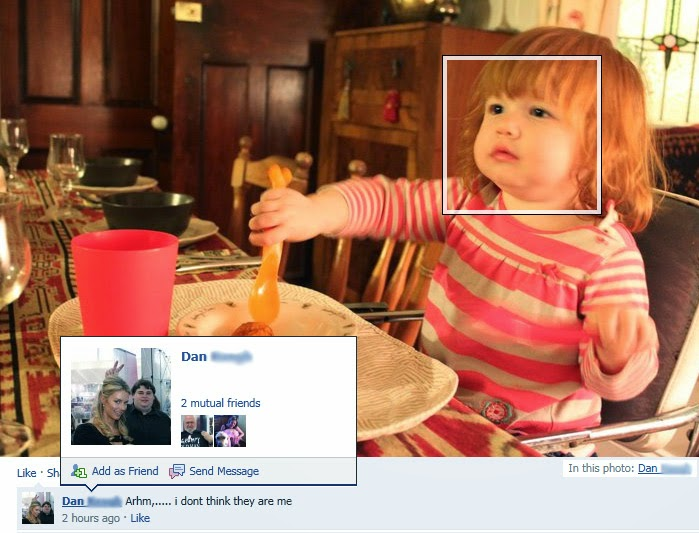 Facebook facial recognition fail