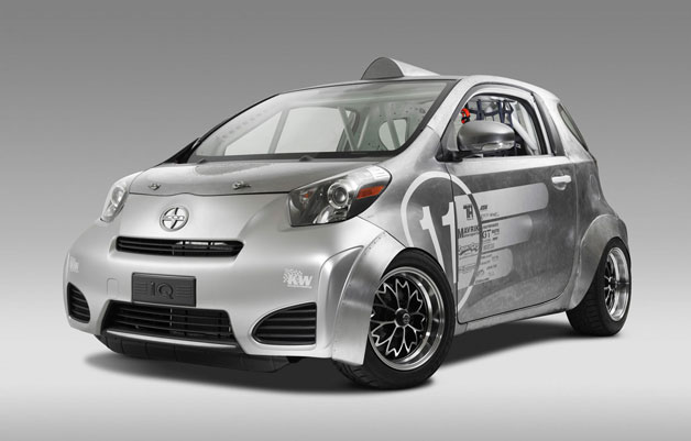 Toyota Scion iQ modification