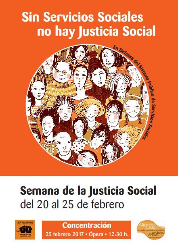 20-25 febrero Semana de la Justicia Social