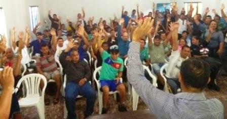 """""""Melhor que a encomenda""""! A frase é do presidente do SINTESV.  Foto: Reprodução/Rondônia Dinâmica"""
