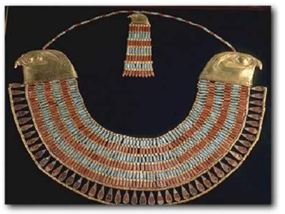 Beautiful jewelry from ancient egypt egy king for Egyptian jewelry