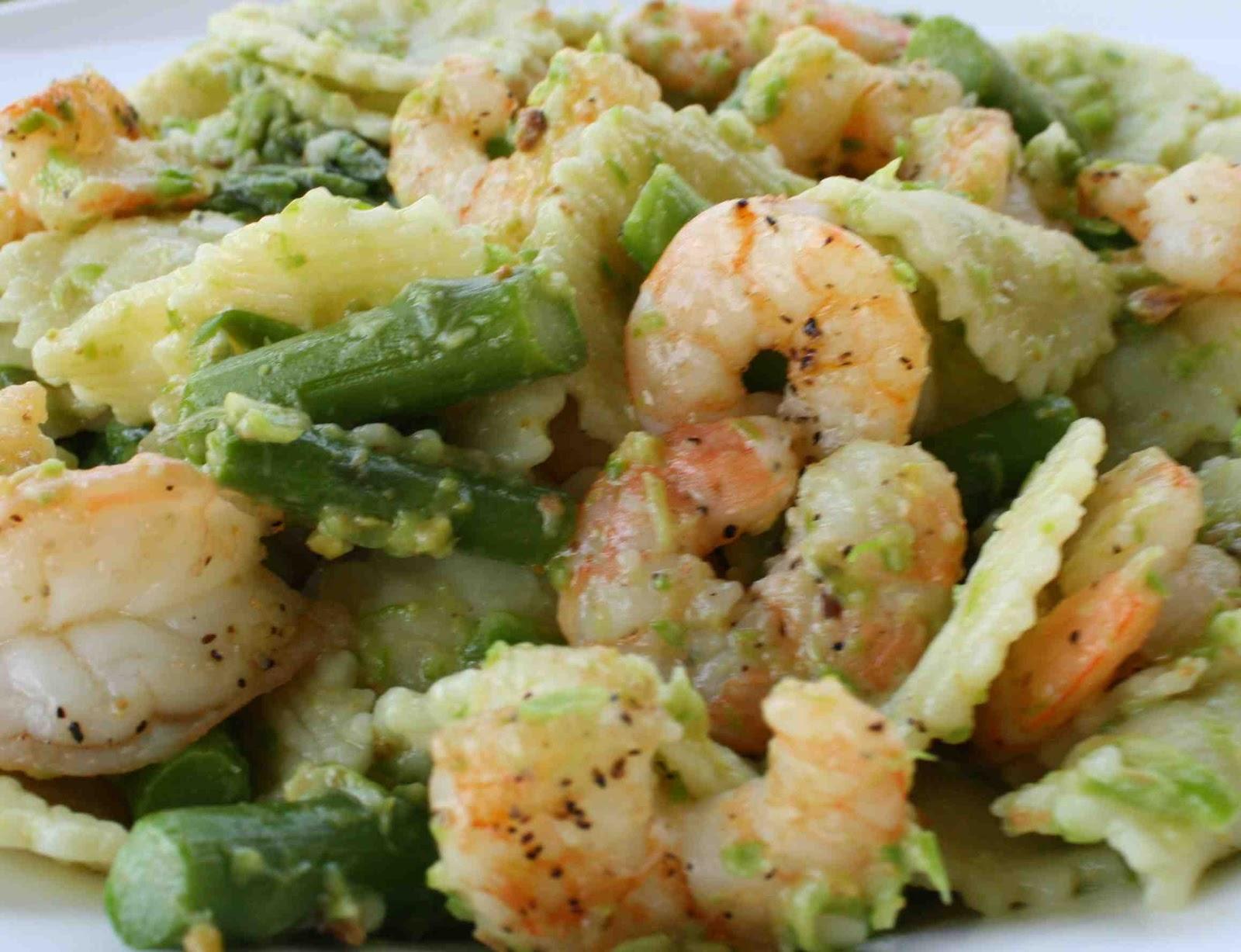 Keeley's Maine Kitchen Kapers: Pasta with Asparagus-Pistachio Pesto