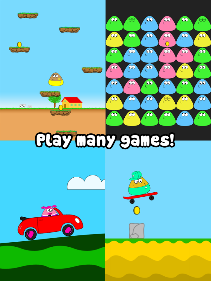 POU Mod Apk (Unlimited Coins) screenshot
