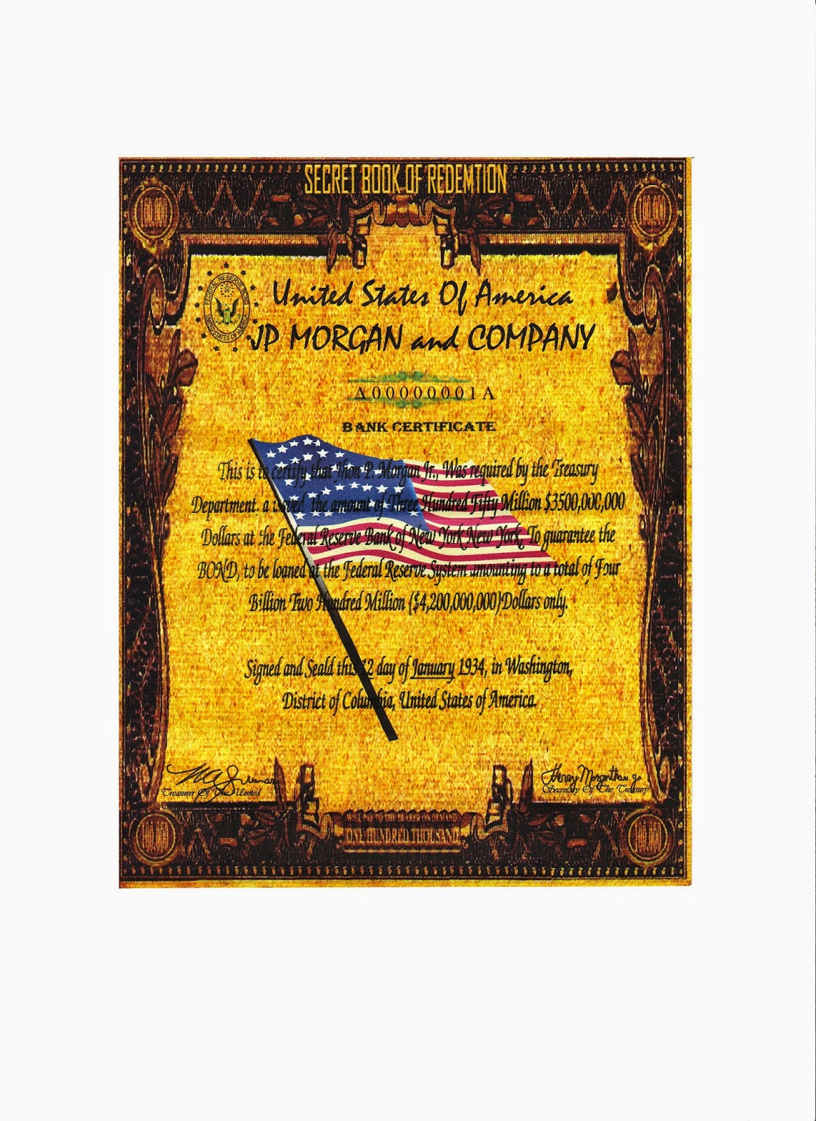 Some interesting facts about paper money 100000 gold however if you are still convinced that what you have is real then you must turn it over to the u s department of treasury the note never distributed xflitez Gallery