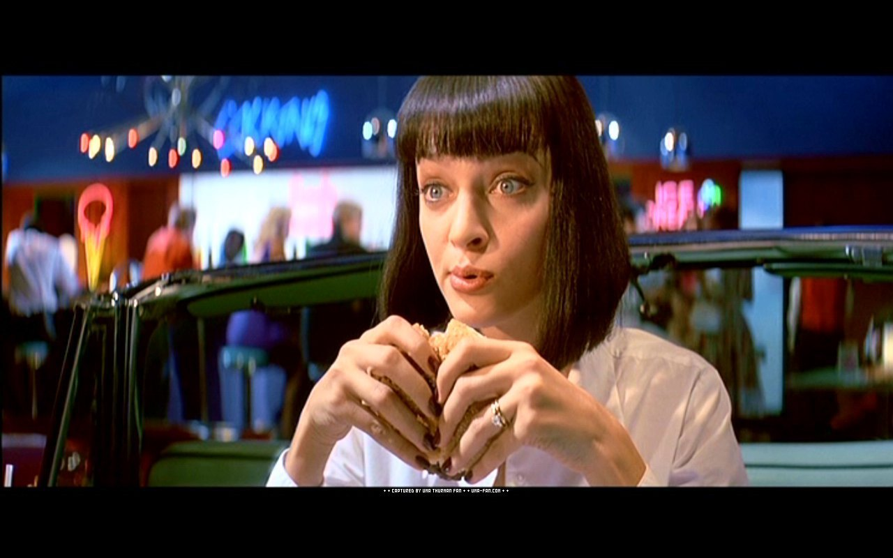 Uma thurman pulp fiction images amp pictures becuo
