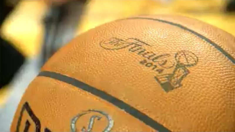 NBA The Finals 2014 Ball