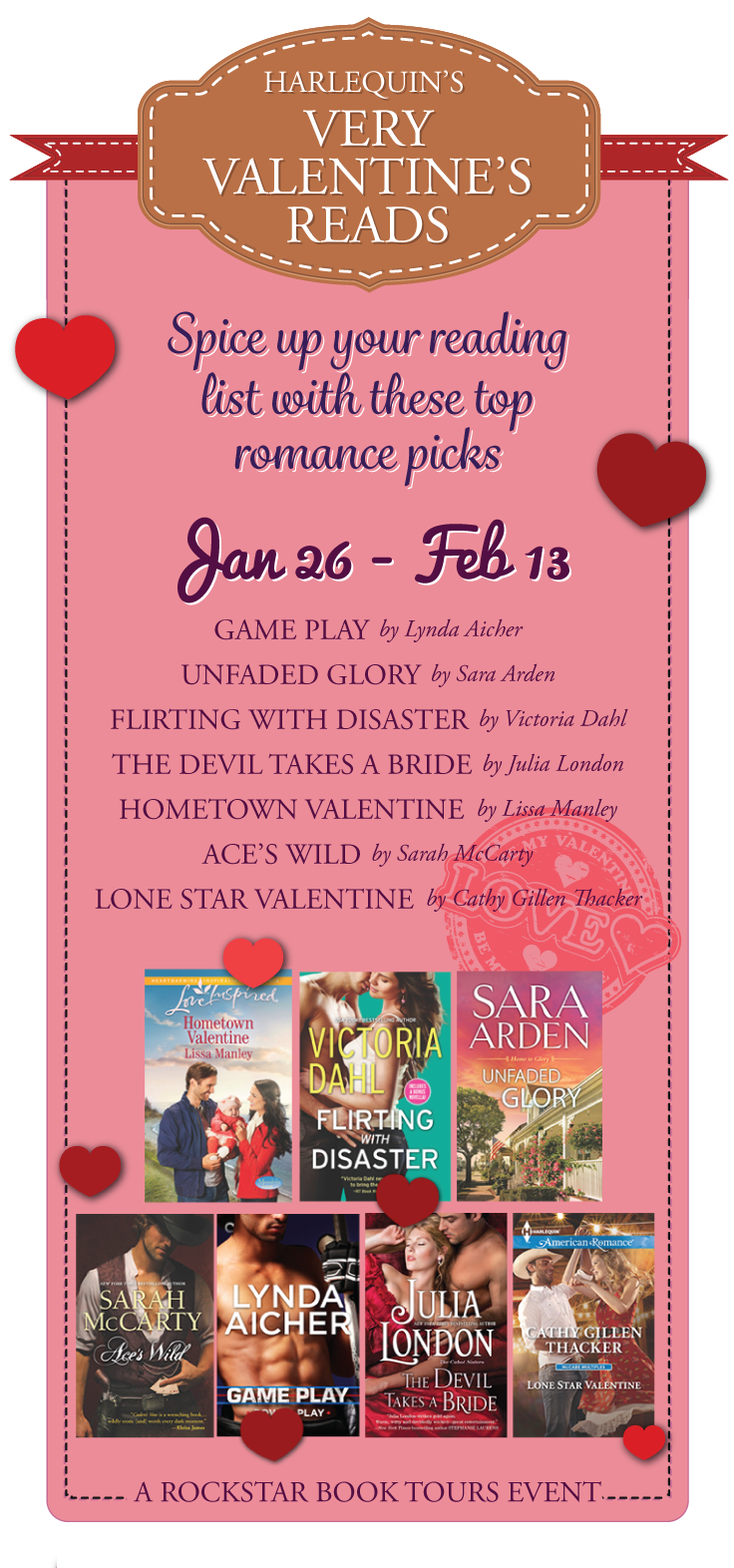 Harlequin's Very Valentine's Reads