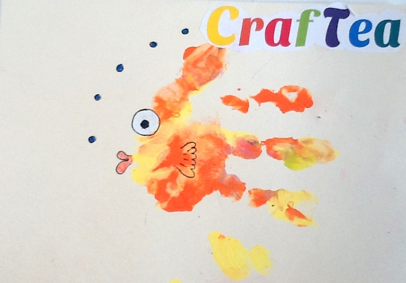 Painted Handprint Animals Get Crafty